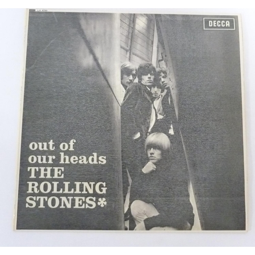 55 - The Rolling Stones, Out Of Our Heads (UK original mono on Decca)....