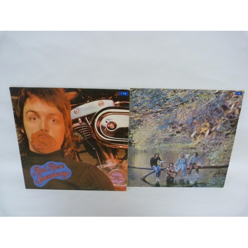 7 - 2 x Paul McCartney LPs, Wildlife and Red Rose Speedway. Both UK originals....