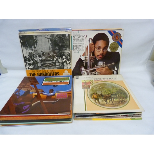 19 - Collection of LPs to include The Kings Singers, Sena Jurinac and Paddy Roberts....