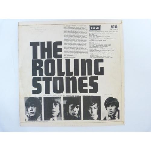 58 - Rolling Stones, original 1st UK LP self-titled album (longer version of Tell Me)....