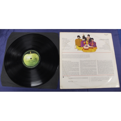 10 - The Beatles, Yellow Submarine original Malaysian pressing....
