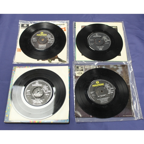 38 - 4 x The Beatles singles including Magical Mystery Tour original mono double e.p and e.ps The Beatles...