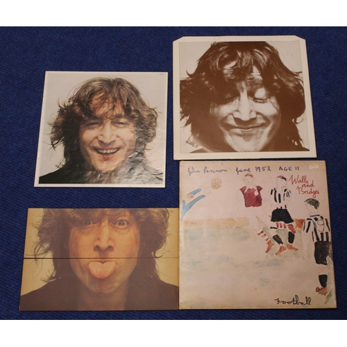 59A - Selection of Beatles and similar era related LP's including John Lennon Walls and Bridges PCTC 253 w...