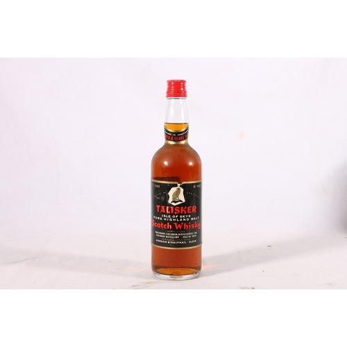 182 - TALISKER 8 year old Isle of Skye pure Highland malt Scotch whisky, matured in sherrywood, proprietor...