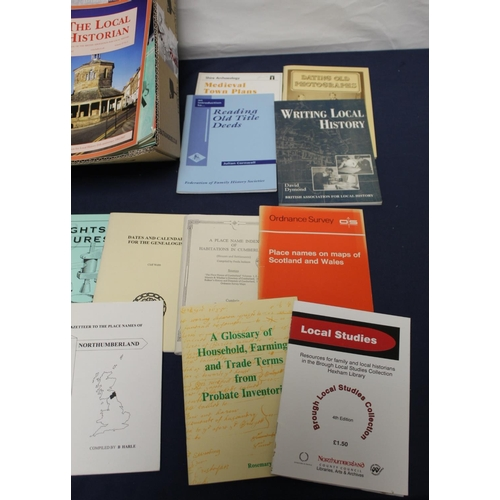 26 - <strong>Local & Other Historical Research, etc.  </strong>A carton of books & soft...
