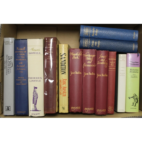 28 - <strong>Literature & Others.</strong>13 various vols. incl. Boswell....