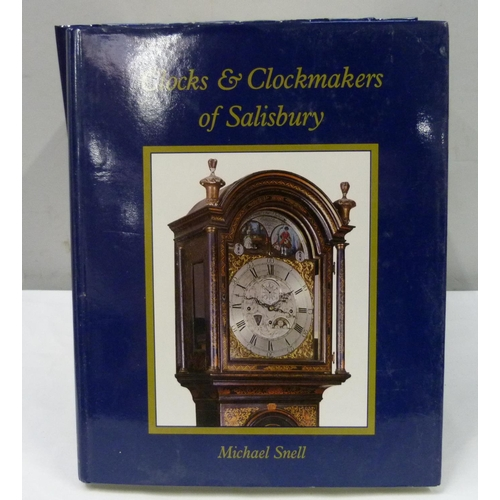 32 - <strong>SNELL MICHAEL.</strong>  Clocks & Clockmakers of Salisbury. 9 copies, new or near n...