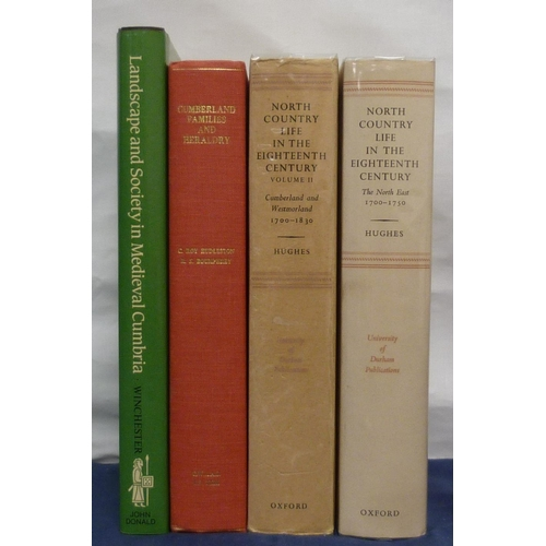 6 - <strong>HUGHES EDWARD.</strong>North Country Life in the Eighteenth Century. 2 vols. Illus. Orig. ...