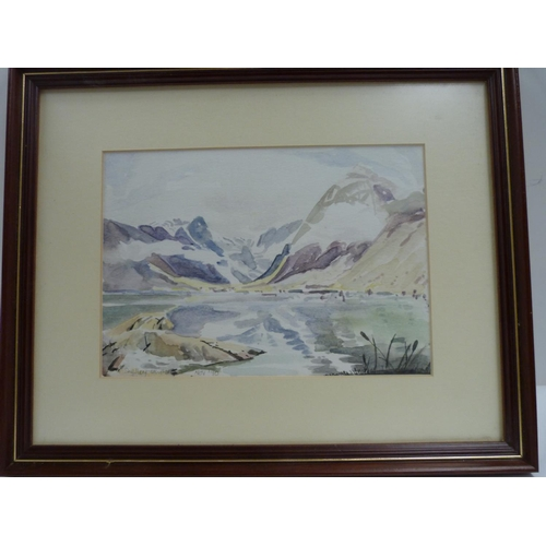 17 - Shelley Whitley.<br />Landscape.<br />Watercolour.<br />Signed and dated 1990....