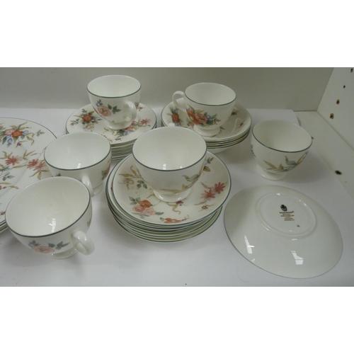 30 - Wedgwood 'Phillipa' floral breakfast set....