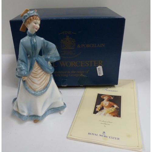 36 - Royal Worcester 'Rebecca' figure....