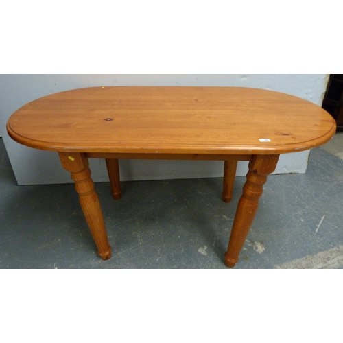 45 - Modern pine dining table....