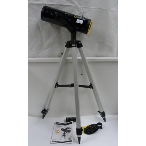 7 - National Geographic telescope and lenses....