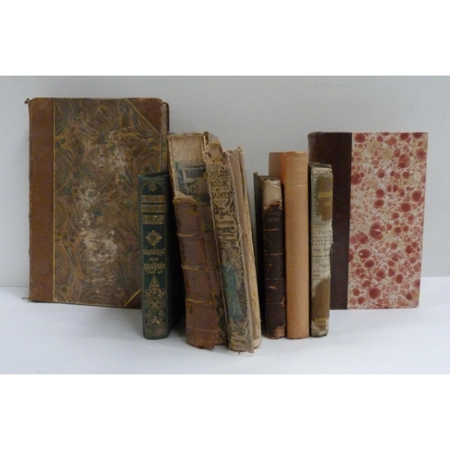 8 - Small collection of antique books to include History of London etc....