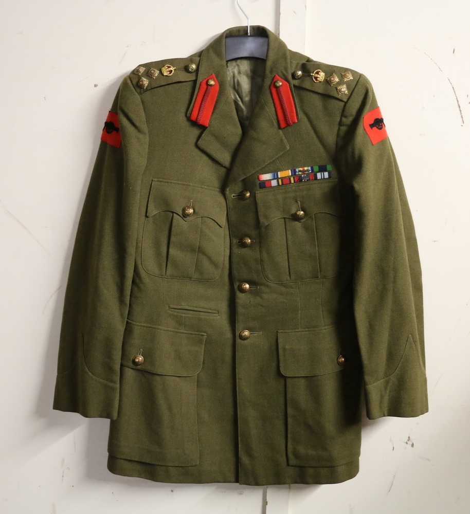 British Army Dress Uniform Jacket Having Austin Reed Of Regent Street Label Brig C P Clarke A092026