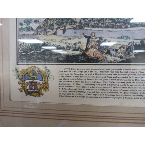 11 - The South West Prospect of Carlisle, framed print