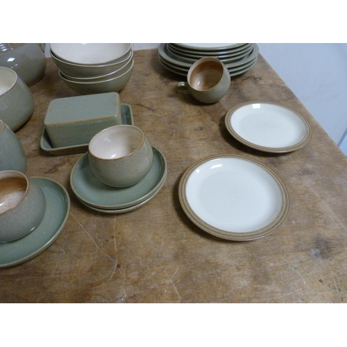 29 - Collection of Denby to include part dinner service.