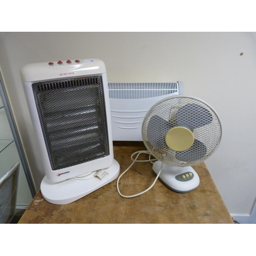 40 - Two electrical heaters and a fan (not tested).