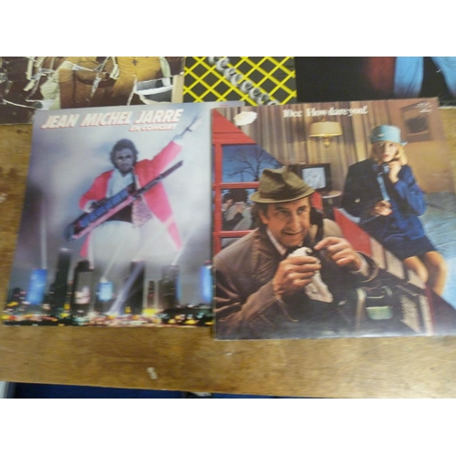 46 - Two boxes of LPs to include David Bowie Live, the Rolling Stones, The Who etc.