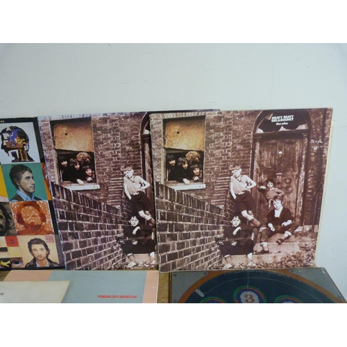 49 - Large box of LPs to include The Who, Gillan, Santana, Kiss etc.