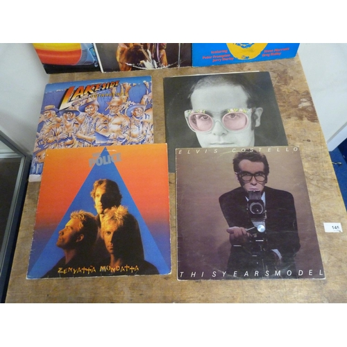 54 - Large box of miscellaneous LPs to include Steve Marriot, Jimi Hendrix, ELO etc.