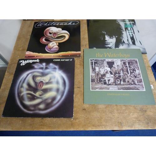 57 - Large box of LPs to include Whitesnake, UB40, David Bowie etc.