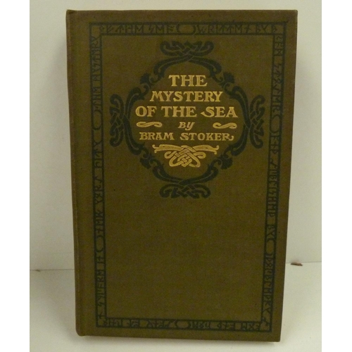 109 - <strong>STOKER BRAM. </strong>The Mystery Of The Sea. Orig. dec. olive green cloth gilt. 1st ed...