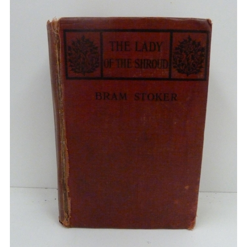 120 - <strong>STOKER BRAM.</strong>The Lady Of The Shroud. Orig. dec. maroon cloth, wear &...