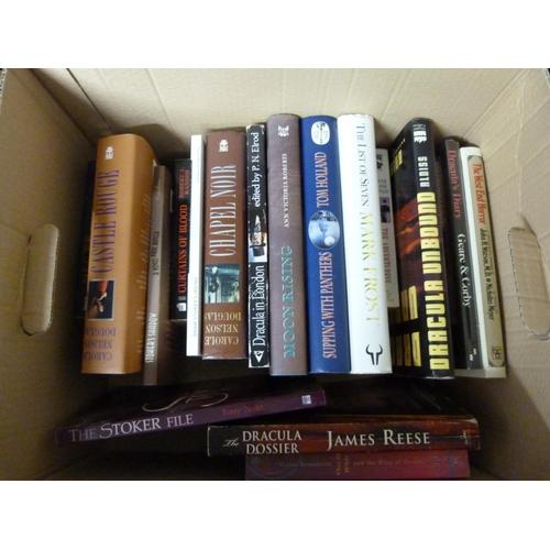 137 - <strong>STOKER BRAM.</strong>Bram Stoker as fiction, a carton of novels based on Bram Stoker &...
