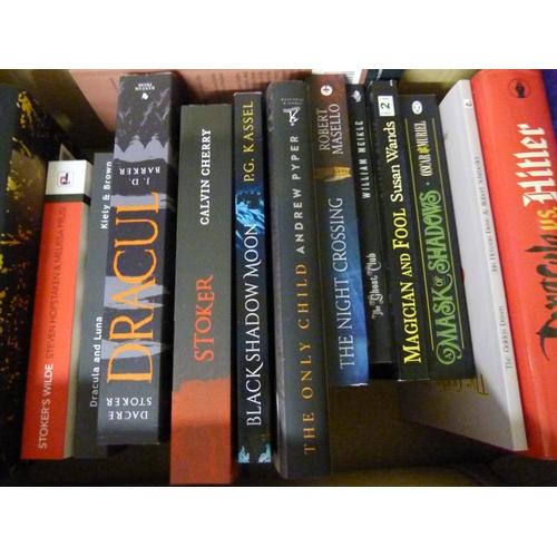 138 - <strong>STOKER BRAM.</strong>Bram Stoker as fiction, a carton of novels based on Bram Stoker &...