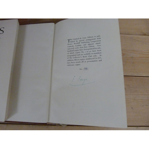 166 - <strong>FARGA FRANZ.</strong>Violins & Violinists. Signed ltd. ed. deluxe 49/200. Ca...