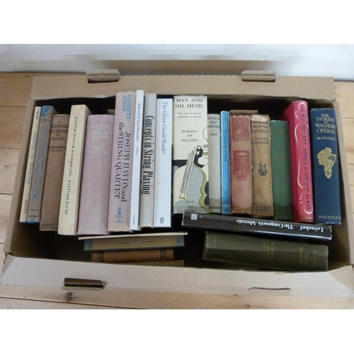 176 - <strong>Music, History, Reference, etc.</strong>24 various vols....