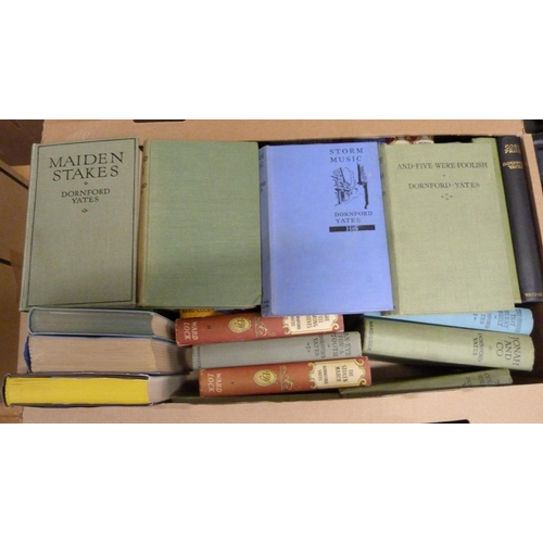 200 - <strong>YATES DORNFORD (C. W. MERCER).</strong>30 various vols., a few in d.w's, incl. s...