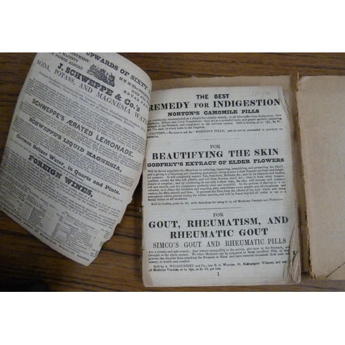 212 - <strong>BRADSHAW.</strong>Monthly Railway & Steam Navigation Guide. Adverts & fldg. leaf. ...