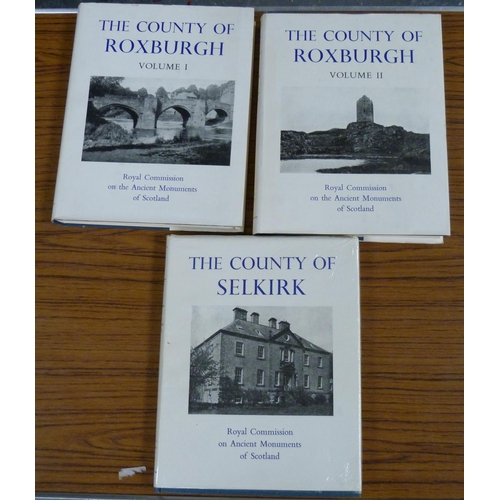 216 - <strong>ROYAL COMM. ON THE ANCIENT MONUMENTS OF SCOTLAND.</strong>The County of Roxburgh...