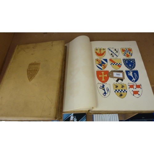 243 - <strong>STODART R. R.</strong>Scottish Arms being a Collection of Armorial Bearings. Cro...