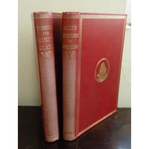 250 - <strong>LEWIS CARROLL.</strong>Alice's Adventures In Wonderland and Through the Looking-...