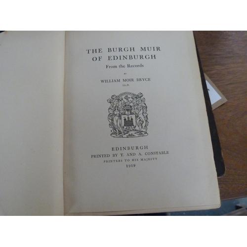 26 - <strong>Scotland & Edinburgh.</strong>4 various quarto vols....