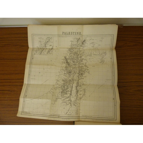 263 - <strong>THOMSON W. M.  </strong>The Land & the Book. Col. plates & text illus. Fldg. map. Re...