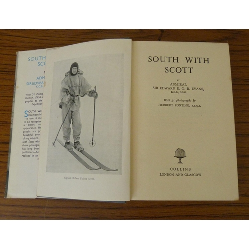 268 - <strong>EVANS E. R. G. R.</strong>South With Scott. Fldg. map & photographic illus. ...