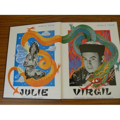 273 - <strong>CHARVET DAVID.</strong>The Great Virgil (Magician). Illus. Quarto. Orig. brown b...