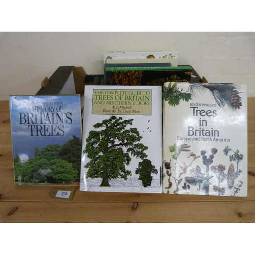 279 - <strong>BEAN W. J.</strong>Trees & Shrubs Hardy in the British Isles. 3 vols. Illus....