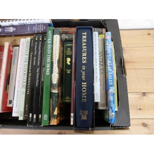 284 - <strong>Antiques & Collecting.</strong>A large carton of various vols., mainly in d....