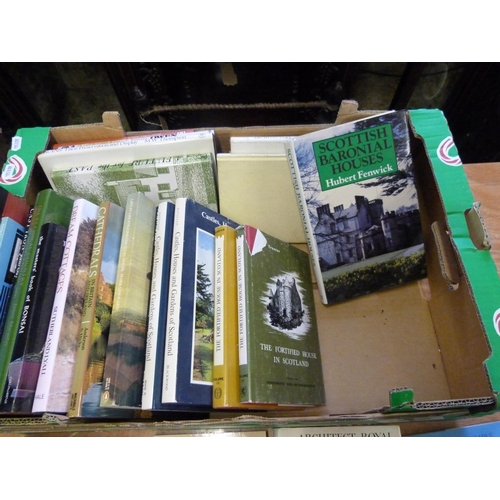 300 - <strong>Architecture & Buildings.</strong>A carton of various vols., mainly in d.w's...