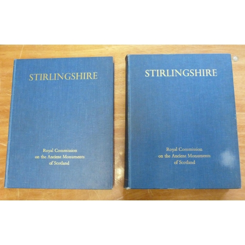 303 - <strong>ROYAL COMM. ON THE ANCIENT & HISTORICAL MONUMENTS OF SCOTLAND.  </strong>Stirlingshire. ...