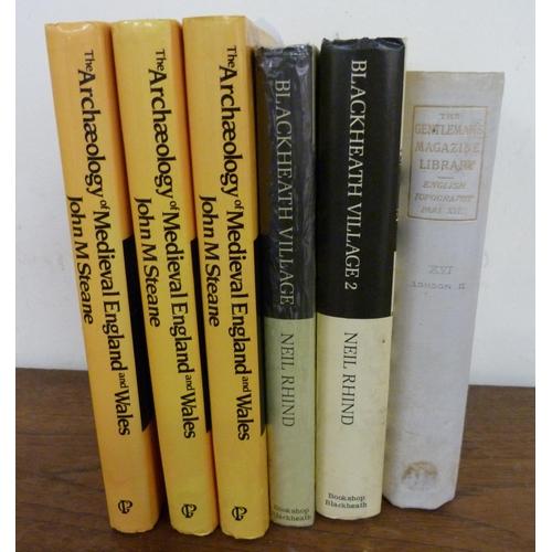 48 - <strong>RHIND NEIL.</strong>Blackheath Village & Environs. 2 vols. Illus. Orig. cloth in d.w's...