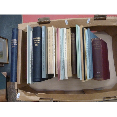 52 - <strong>Index Volumes.</strong>A carton of index vols. relating to the transactions &...