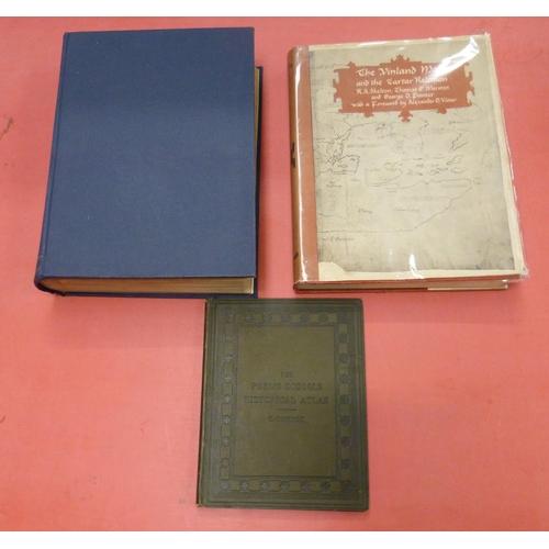 54 - <strong>Encyclopedia Britannica.</strong>Atlas volume. 124 mainly double page colour map...