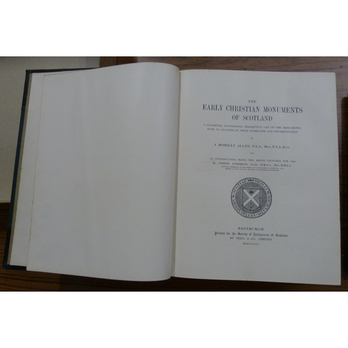 69 - <strong>ALLEN J. ROMILLY.</strong>The Early Christian Monuments Of Scotland. Ltd. ed. 13...