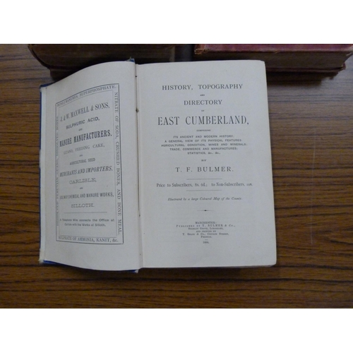 73 - <strong>BULMER T. F.</strong>History, Topography & Directory of East Cumberland. Tor...